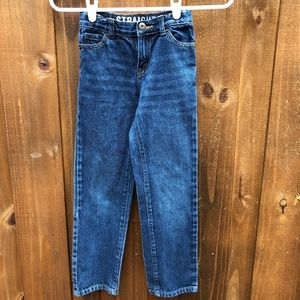 Crazy 8 Straight Blue Denim Jeans Size 7 Slim